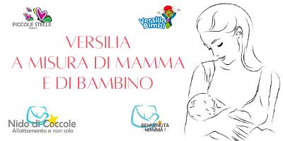 Versilia a misura di mamma e di bambino