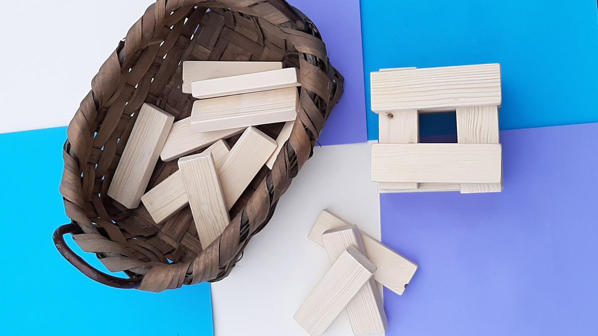 Le costruzioni: tutto il fascino del legno e si vola con l'immaginazione