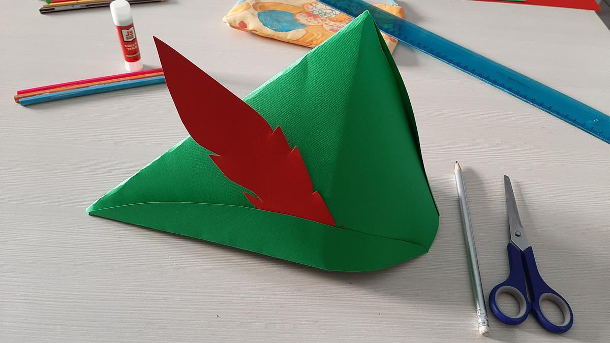 """""""I Cappelli di Carta"""": il cappello di Peter Pan!"""