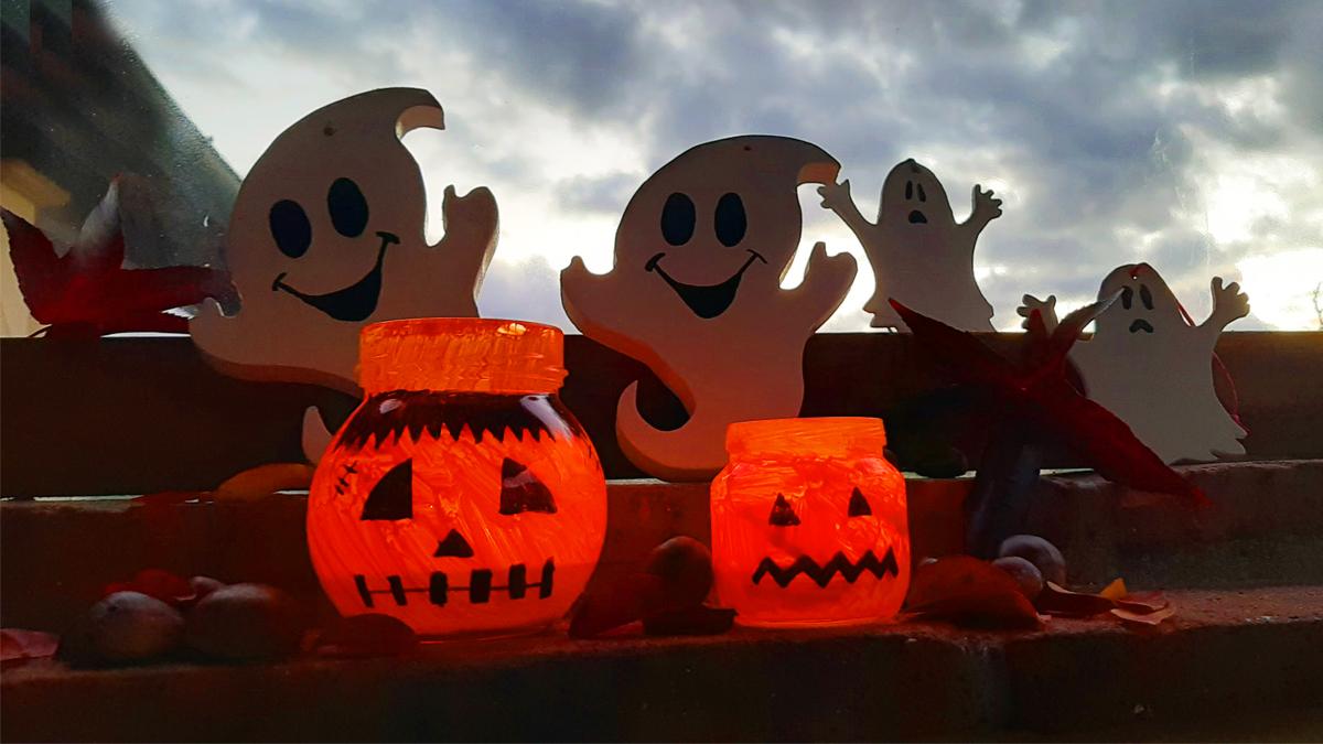 Le lanterne di Halloween