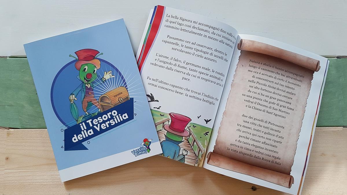 """E' uscito il libro di Versilia Bimbi """"Il Tesoro della Versilia"""""""
