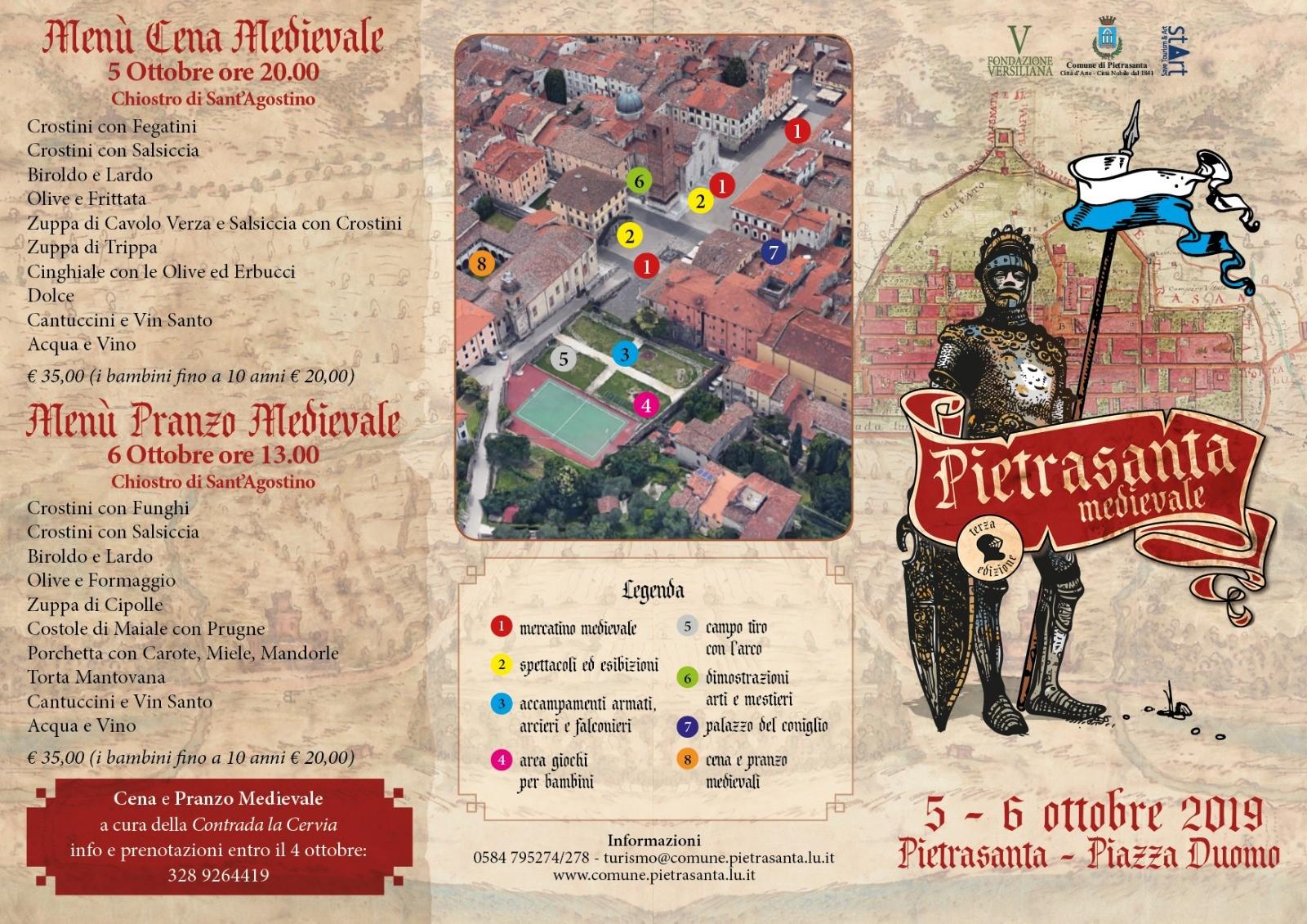Pietrasanta Medievale 6-7 Ottobre