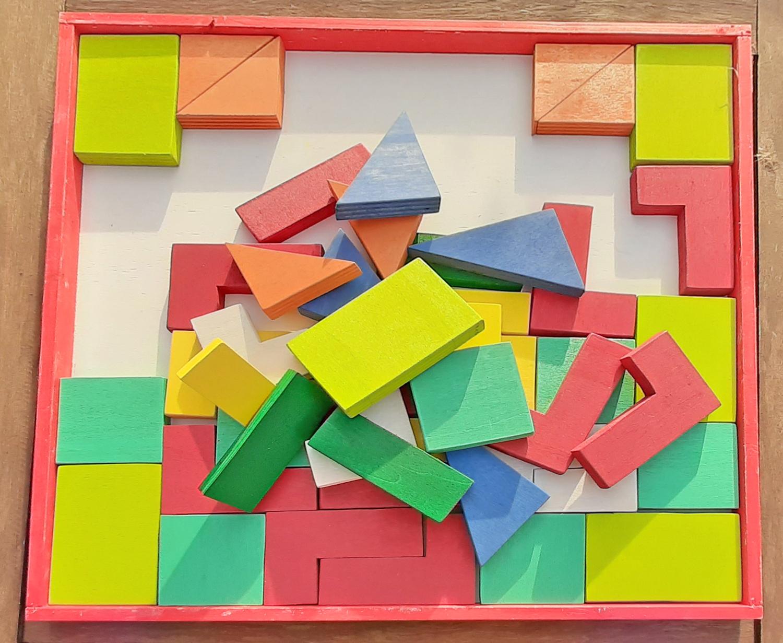 Tetris: forme e colori da incastrare