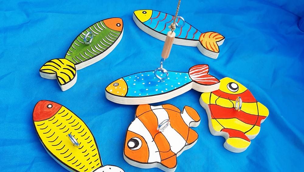 La Pesca: chi prenderà più pesciolini?