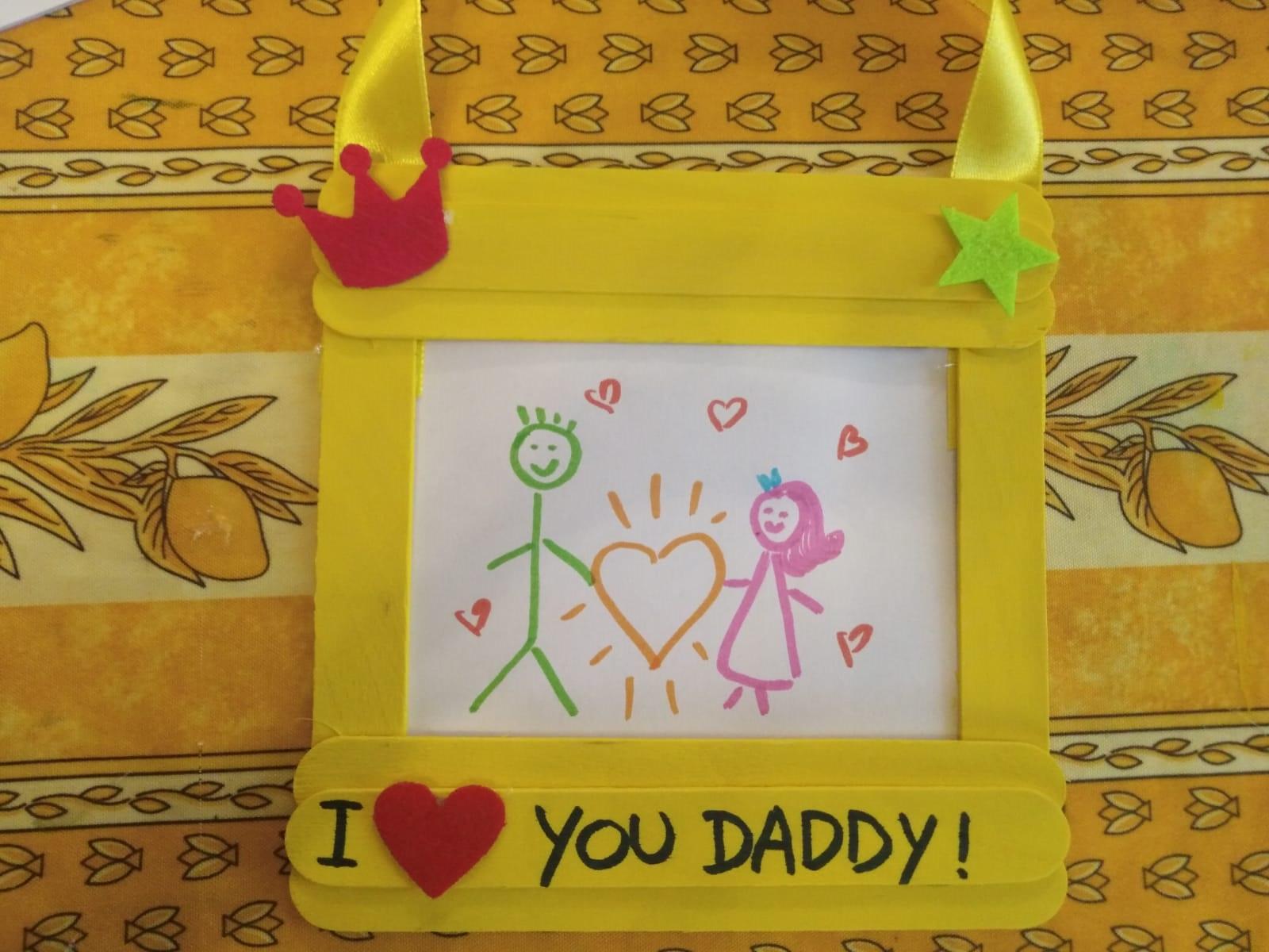 Festa del Papà: una cornice piena d'amore