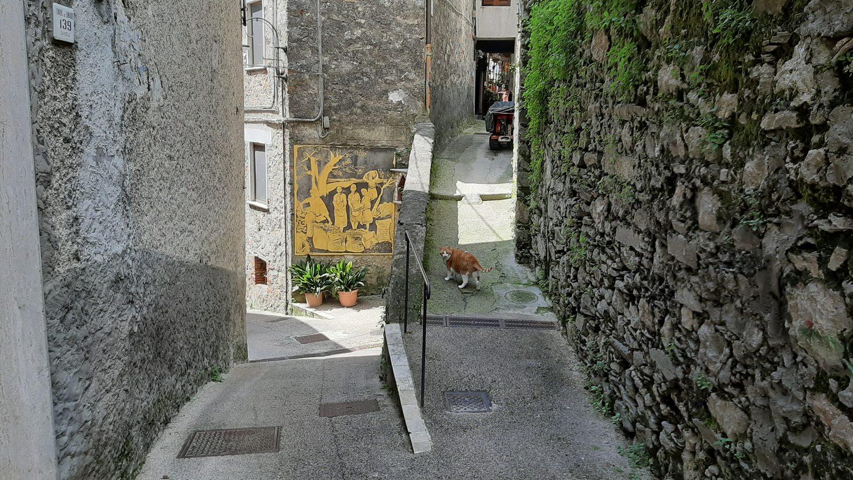 Casoli, il Paese dei Graffiti