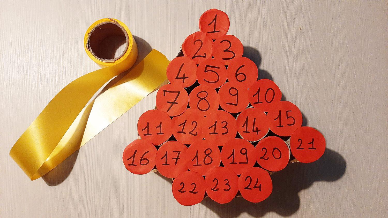 Il Calendario dell'Avvento fatto in casa