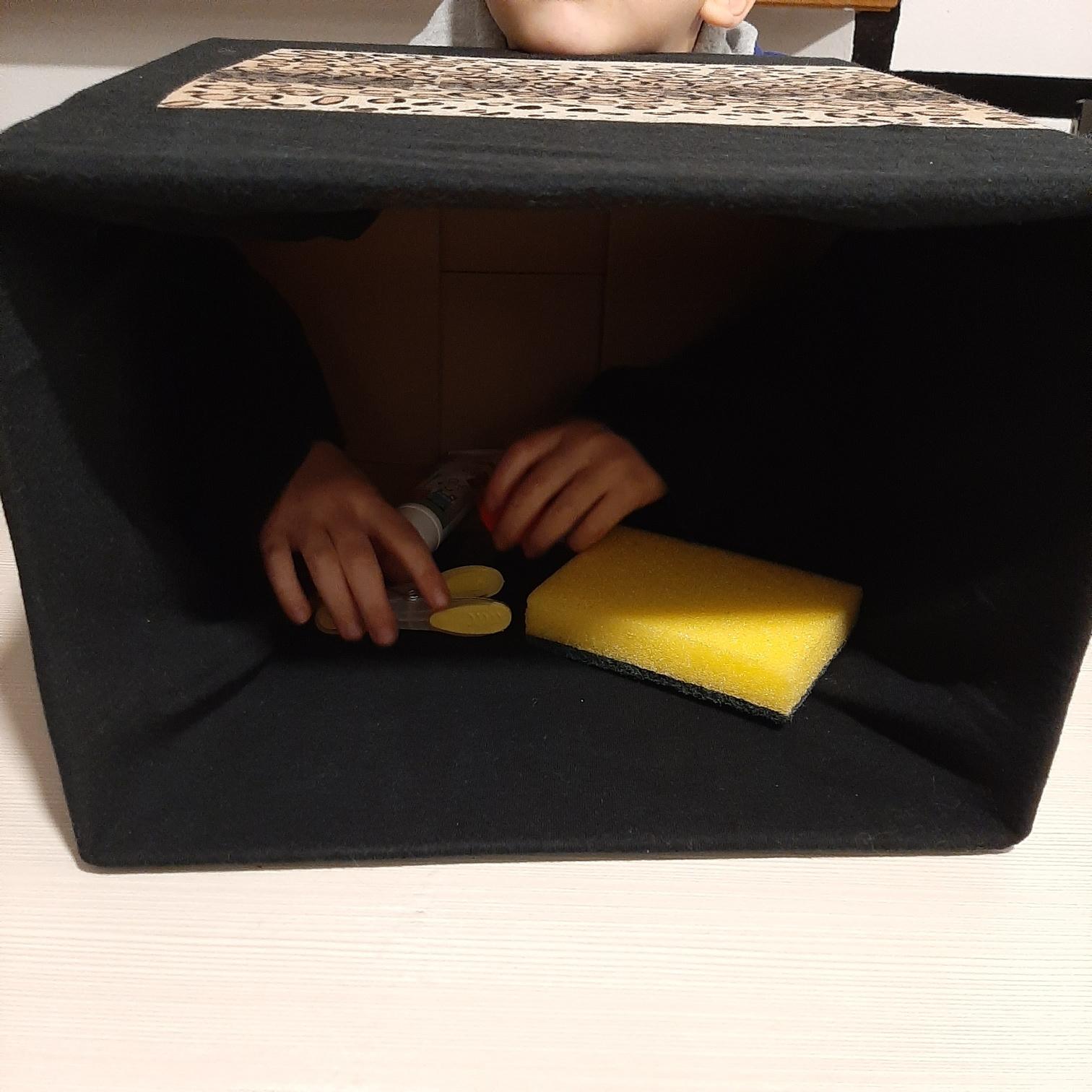 La scatola misteriosa: un gioco semplice e divertente