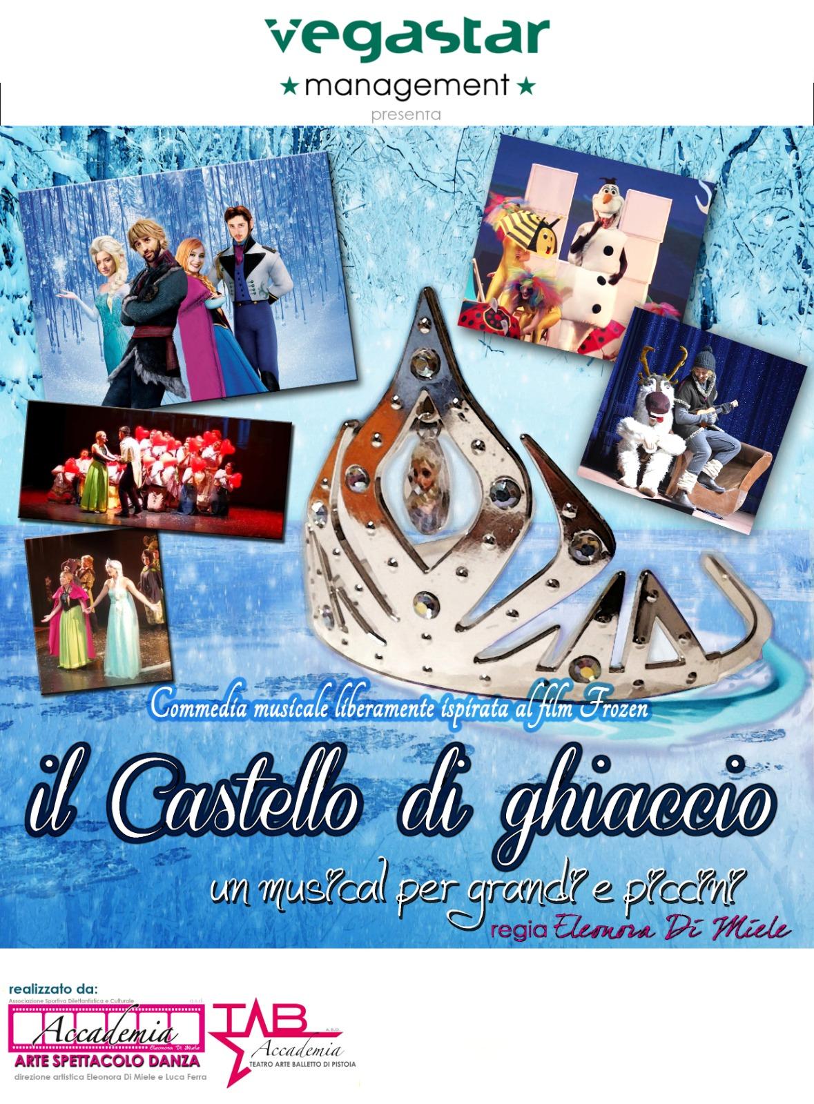 """Musical """"Il Castello di Ghiaccio"""" alla Versiliana"""