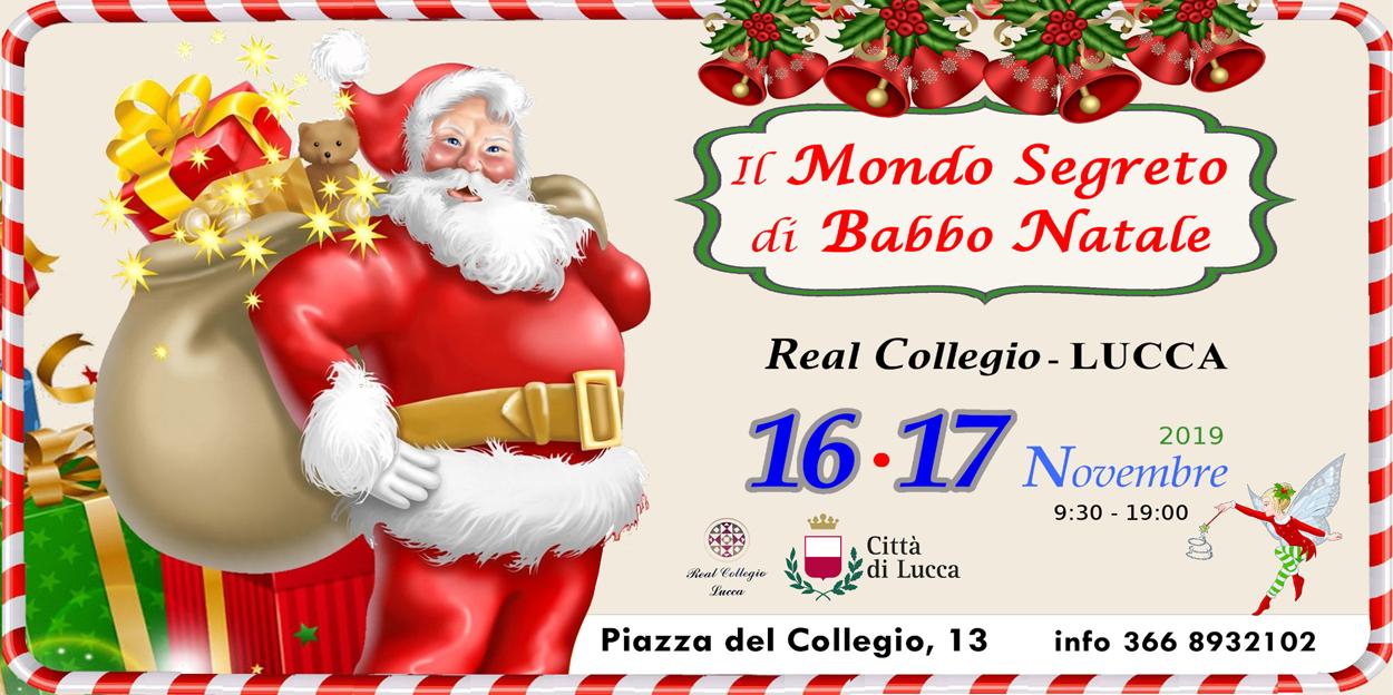 Il Mondo Segreto di Babbo Natale a Lucca sabato 16 e domenica 17 novembre