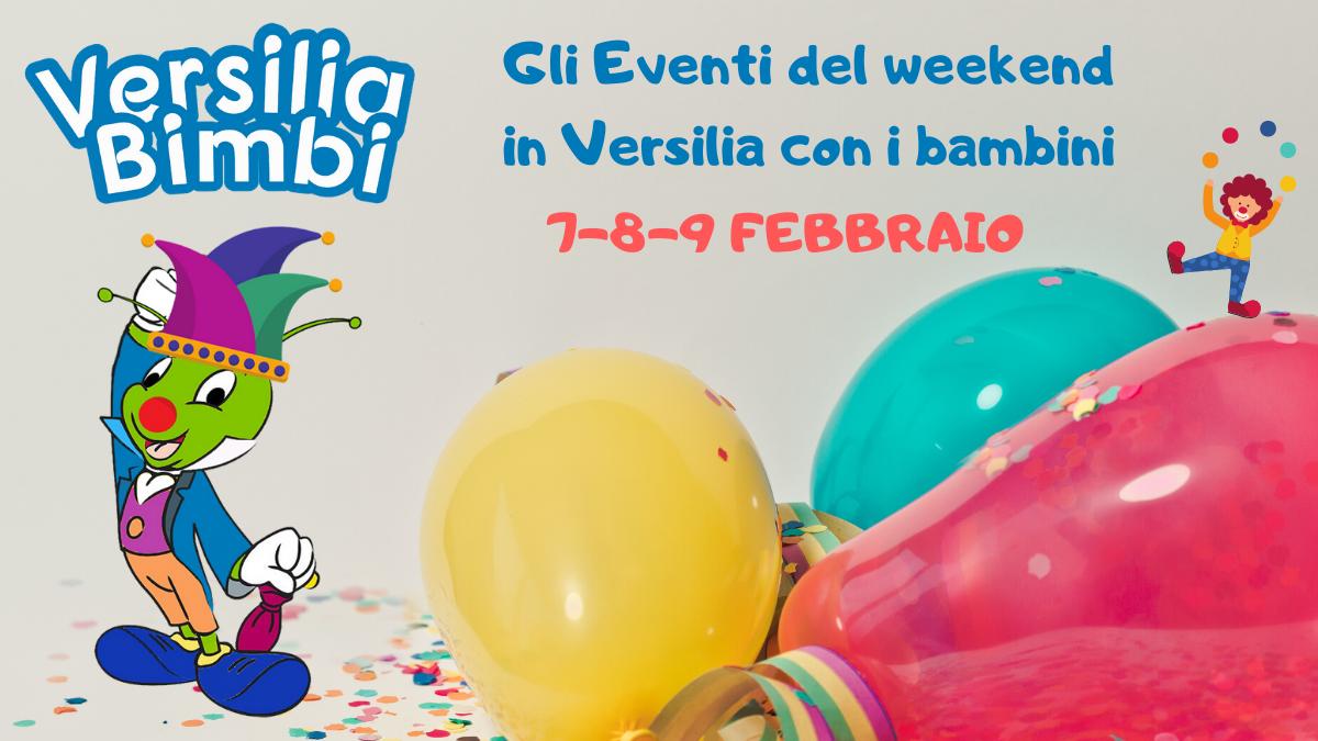 Gli Eventi del weekend in Versilia per i bambini