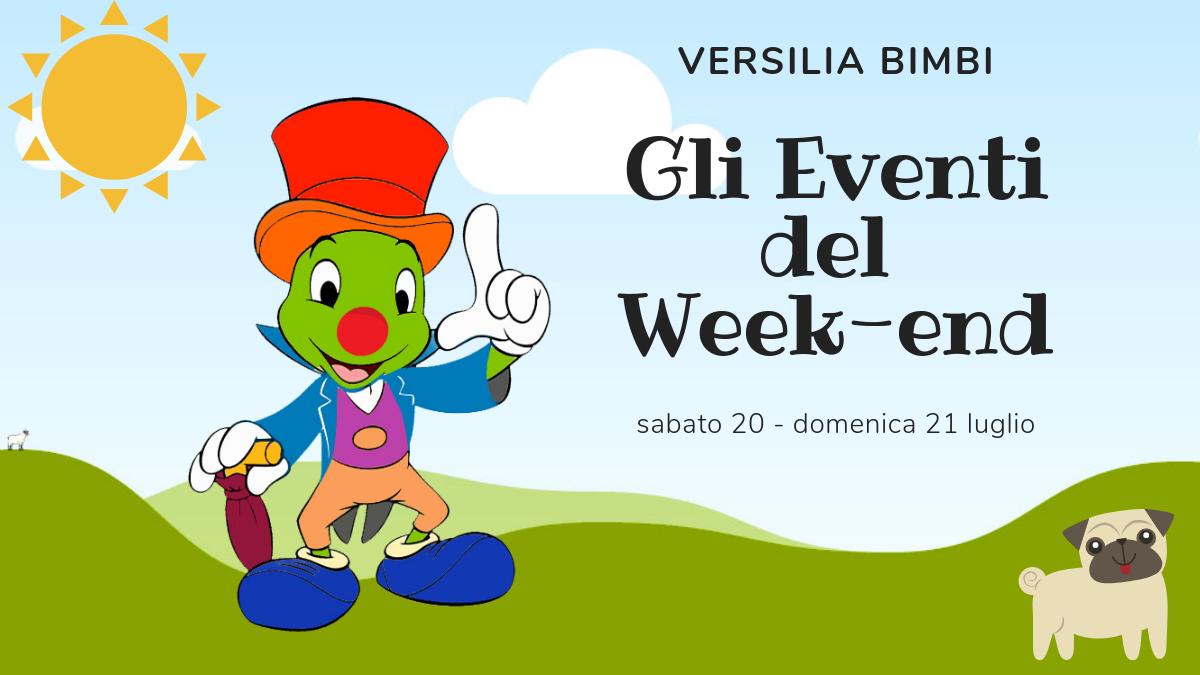 Gli eventi del weekend in Versilia per i più piccoli