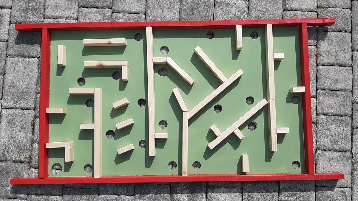 Labirinto in Legno per 2 giocatori