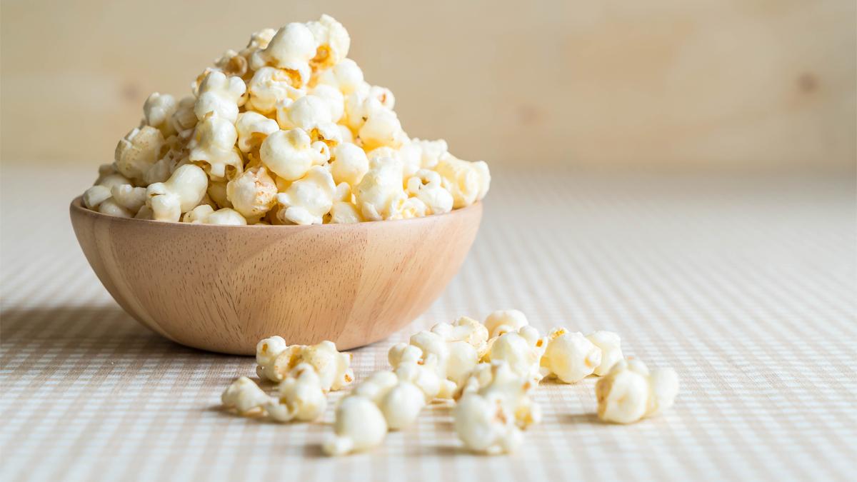 Pop Corn: fibre e ferro da gustare