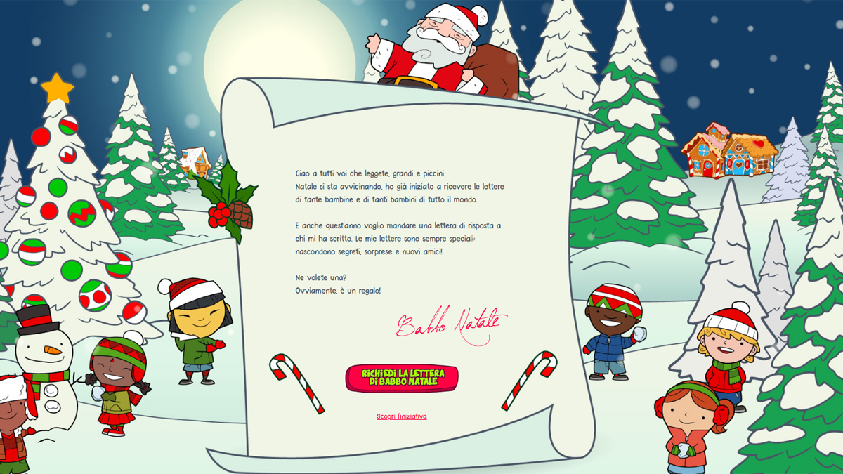 La lettera di Babbo Natale...da Poste Italiane