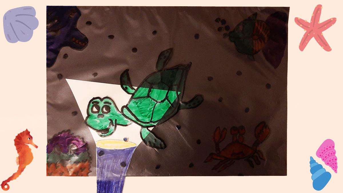 Luce sotto il Mare: un simpatico gioco per bambini