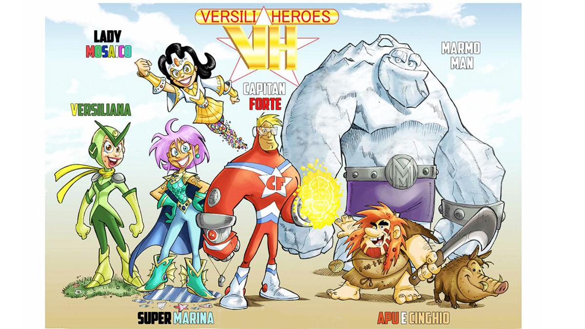 """Uscito il primo numero di """"Versilia Heroes""""!"""