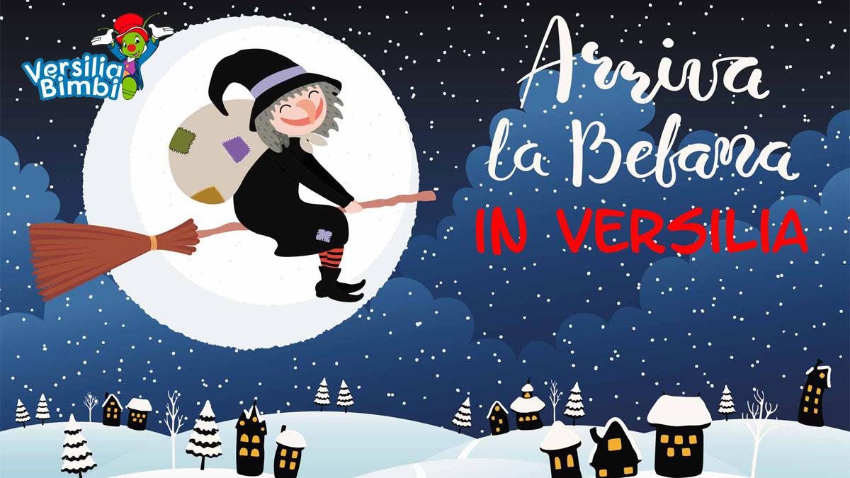 Befana: gli eventi per bambini in Versilia