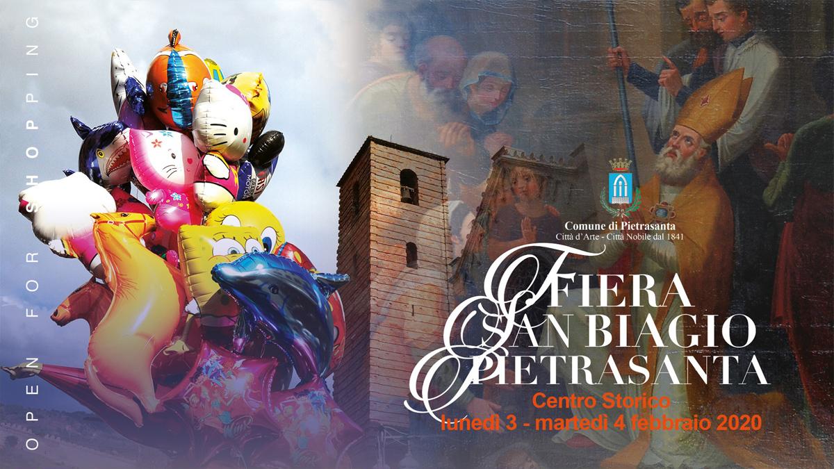 Fiera di San Biagio a Pietrasanta 3-4 Febbraio