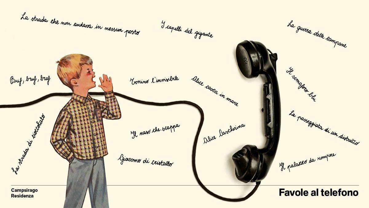 Le favole al telefono… al telefono!