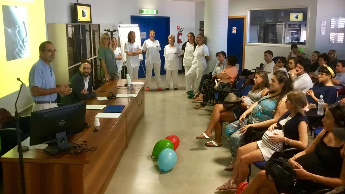 """All'ospedale Versilia """"Mi preparo e… parto"""": il nuovo percorso con le ostetriche"""