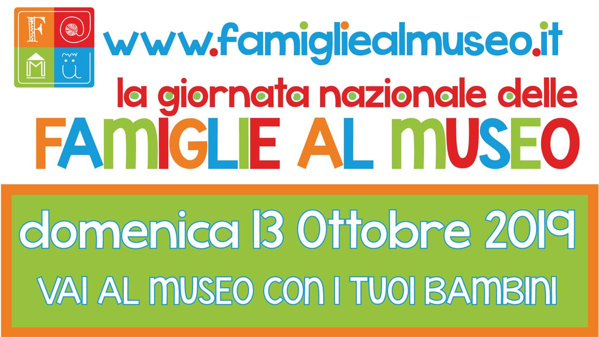 Famiglie al Museo il 13 ottobre con FAMU
