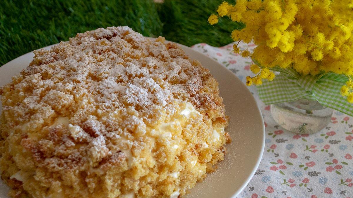 La Torta Mimosa per la Festa della Donna