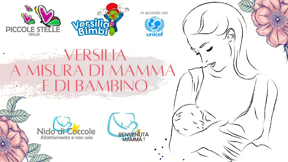 """Piccole Stelle onlus e Versilia Bimbi presentano """"VERSILIA A MISURA DI MAMMA E DI BAMBINO"""""""